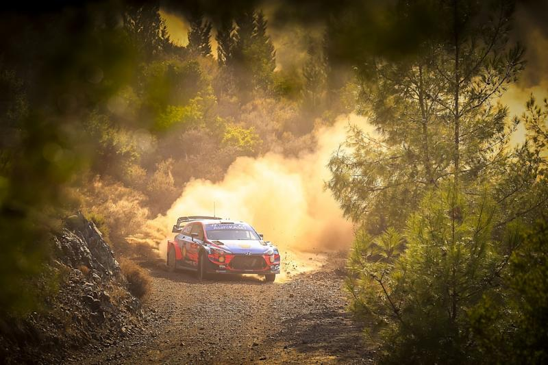 Toyota's Evans clinches WRC Rally Turkey victory