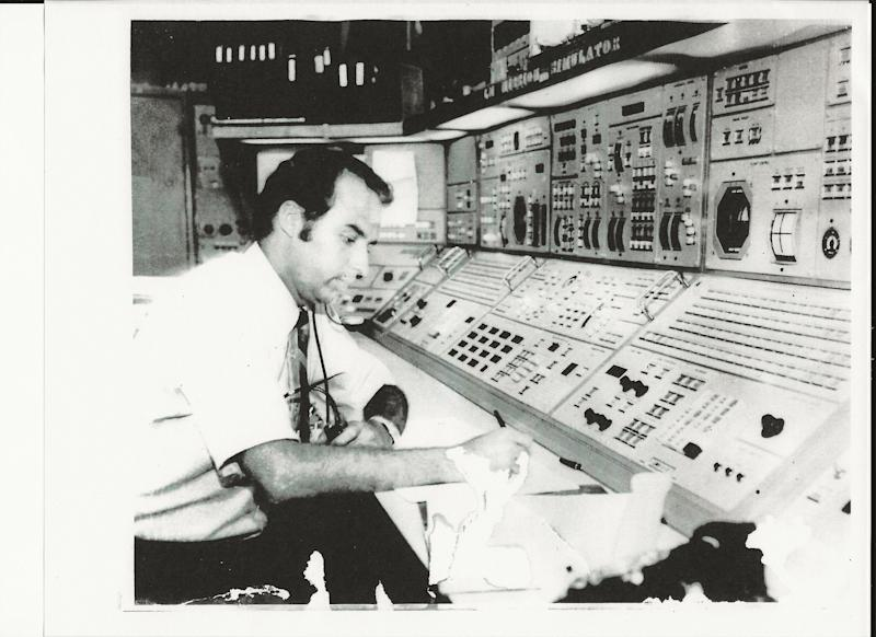 Miguel Hernandez, an engineer with NASA, helped train astronauts for seven of the Apollo missions, including the Apollo 11 moon landing.