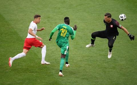 niang beating poland - Credit: GETTY IMAGES