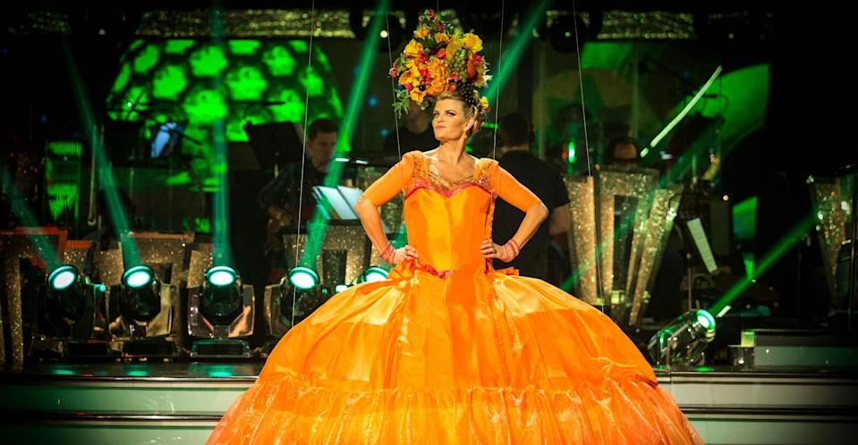 Susannah Constantine failed to impress the Strictly judges. (BBC Pictures)