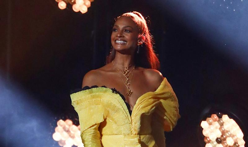 Ofcom received complaints over Alesha Dixon's BLM necklace on BGT. (Syco/Thames/ITV)
