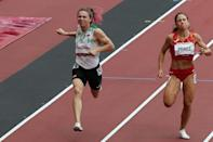 Belarus' Krystsina Tsimanouskaya had competed in heats at the Games before the political drama