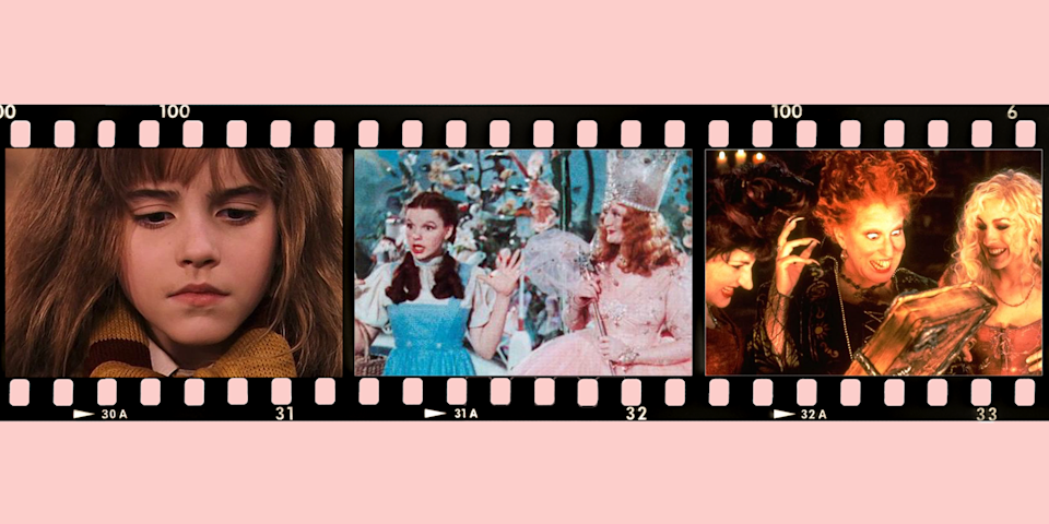 """<p>From the Wicked Witch of the West who tormented Dorothy to Sabrina, our favorite '90s teen witch, Hollywood has always featured these intriguing and powerful female characters in TV shows and feature films. Some have good powers we'd love to have ourselves (a twitch of the nose to clean up the house like Samantha Stephens? Sign us up!). Others are the villains we all love to hate — and it's especially satisfying when they get what they deserve! Whether you believe in their magic or not, they're fascinating in all their guises and appearances in spooky <a href=""""https://www.goodhousekeeping.com/holidays/halloween-ideas/g21951058/witch-movies/"""" rel=""""nofollow noopener"""" target=""""_blank"""" data-ylk=""""slk:witch movies"""" class=""""link rapid-noclick-resp"""">witch movies</a>, <a href=""""https://www.goodhousekeeping.com/holidays/halloween-ideas/g2661/halloween-movies/"""" rel=""""nofollow noopener"""" target=""""_blank"""" data-ylk=""""slk:kids' Halloween movies"""" class=""""link rapid-noclick-resp"""">kids' Halloween movies</a> and beyond.</p><p>Here are some of the most recognizable witches from TVs and movies. Who's your favorite?</p>"""