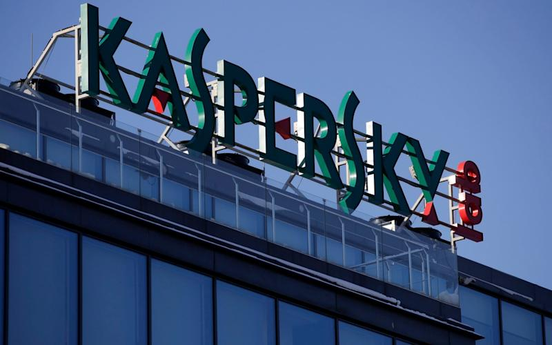 Headquarters of Kaspersky Lab in Moscow - AP