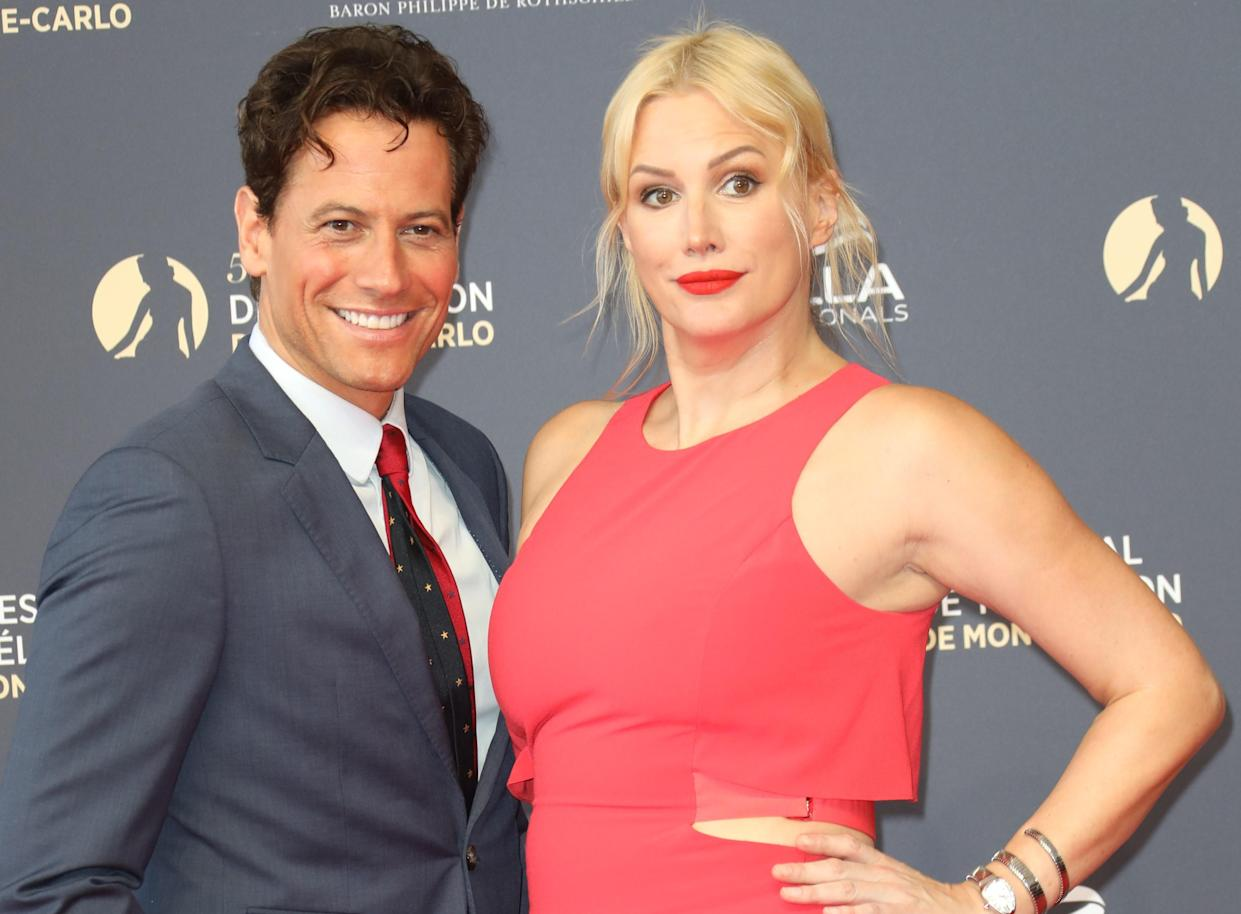 Ioan Gruffudd and Alice Evans are to split after 20 years together. (Getty Images)
