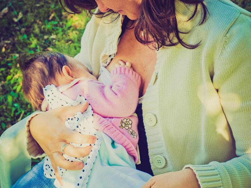 Women are being shamed for breastfeeding in public [Photo: Getty]