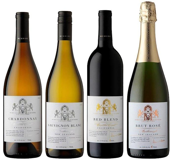 """<p><strong>McBride Sisters Collection Wines, from $17</strong></p><p>mcbridesisters.com</p><p><strong>$16.99</strong></p><p><a href=""""https://www.mcbridesisters.com/product/McBride-Sisters-Collection-2018-Marlborough-New-Zealand-Sauvignon-Blanc-Copy?productListName=McBride+Sisters+Collection&position=8"""" rel=""""nofollow noopener"""" target=""""_blank"""" data-ylk=""""slk:BUY NOW"""" class=""""link rapid-noclick-resp"""">BUY NOW</a></p><p>Although I'm in the early stages of developing a palate for beer, my taste for wine has been steadfast. Enter <a href=""""https://www.mcbridesisters.com/"""" rel=""""nofollow noopener"""" target=""""_blank"""" data-ylk=""""slk:McBride Sisters"""" class=""""link rapid-noclick-resp"""">McBride Sisters</a>, the makers of one of my favorite <a href=""""https://www.mcbridesisters.com/product/Black-Girl-Magic-2018-California-Riesling?productListName=McBride+Sisters+Collection+Black+Girl+Magic&position=7"""" rel=""""nofollow noopener"""" target=""""_blank"""" data-ylk=""""slk:Rieslings"""" class=""""link rapid-noclick-resp"""">Rieslings</a>, aptly named """"Black Girl Magic."""" They also make a red blend and a rosé in that line, as well as a slate of other California grape varieties.</p>"""