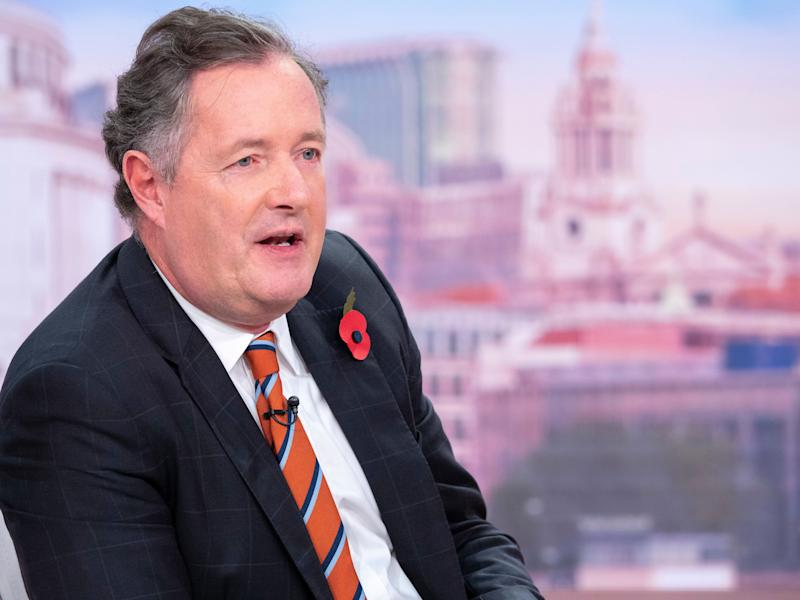Piers Morgan was not impressed at the concept (Photo: Ken McKay/ITV/Shutterstock)
