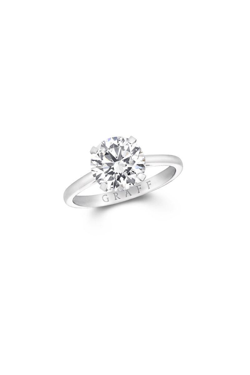 "<p><em><strong>Graff</strong> ""Paragon"" Round Diamond Engagement Ring, price upon request, <a href=""http://graff.com"" rel=""nofollow noopener"" target=""_blank"" data-ylk=""slk:graff.com"" class=""link rapid-noclick-resp"">graff.com</a><strong>.</strong></em> <br></p><p><a class=""link rapid-noclick-resp"" href=""http://graff.com"" rel=""nofollow noopener"" target=""_blank"" data-ylk=""slk:SHOP"">SHOP</a></p>"
