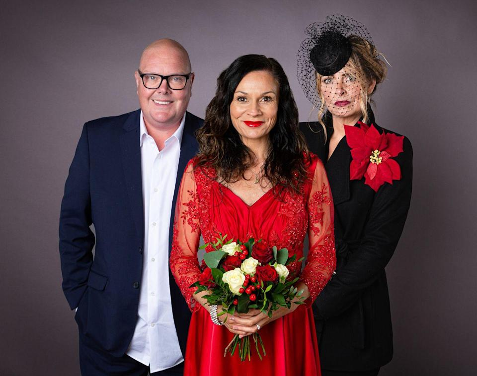 <p>Charity hides her anger after discovering that Ryan has received an invite to the wedding. Feeling angry, she dresses herself in funeral attire, but what exactly does she have planned?</p>