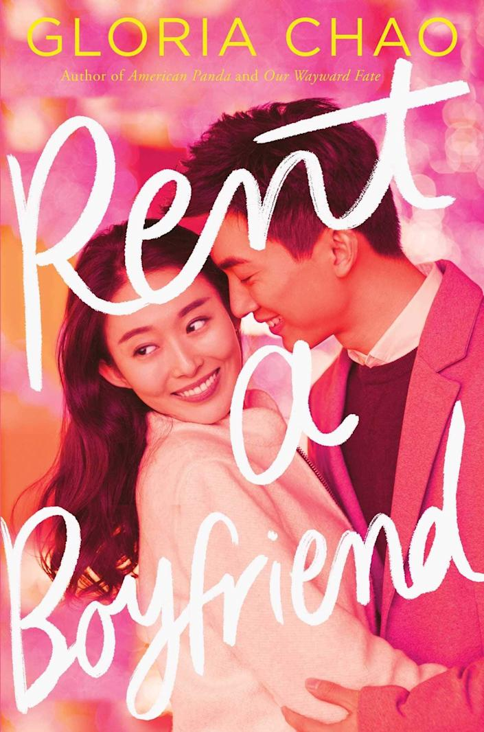 <p>Gloria Chao's <span><strong>Rent a Boyfriend</strong></span> isn't just an adorable romance, it's also a beautifully realized coming of age story. College student Chloe Wang wants nothing more than to convince her traditional Taiwanese parents to stop pressuring her into accepting a proposal from their community's wealthiest young bachelor. In hopes of distracting them from their quest to find her the perfect guy, Chloe rents a boyfriend to impress them, but she soon realizes that her fake boyfriend is far more appealing than she expected.</p> <p><em>Out Nov. 10</em></p>
