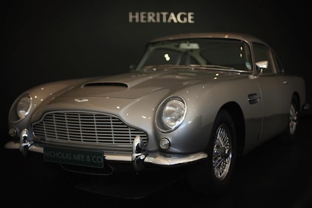 Aston Martin shares sank after sales plummeted. Photo: Dan Kitwood/Getty Images