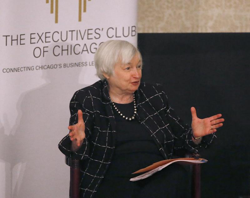 Fed chair Janet Yellen