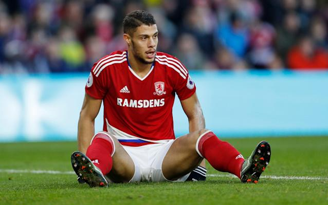 <span>Rudy Gestede was one of Middlesbrough's January purchases</span> <span>Credit: Reuters </span>