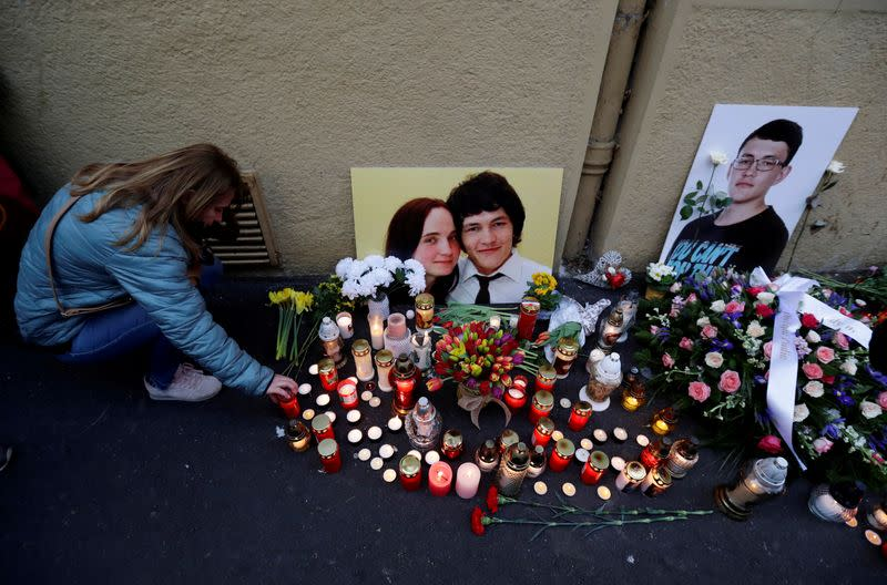 FILE PHOTO: Trial over Slovak journalist's murder puts justice system to test