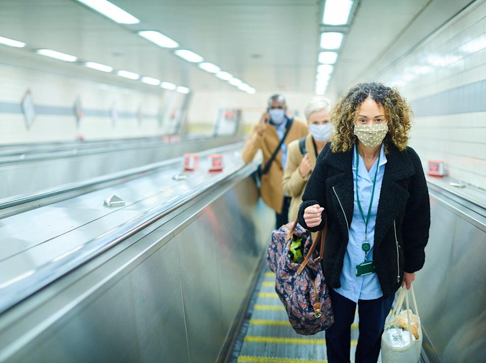 More people will begin commuting to work again after the government lifts its work from home guidance on 19 July (Getty Images)