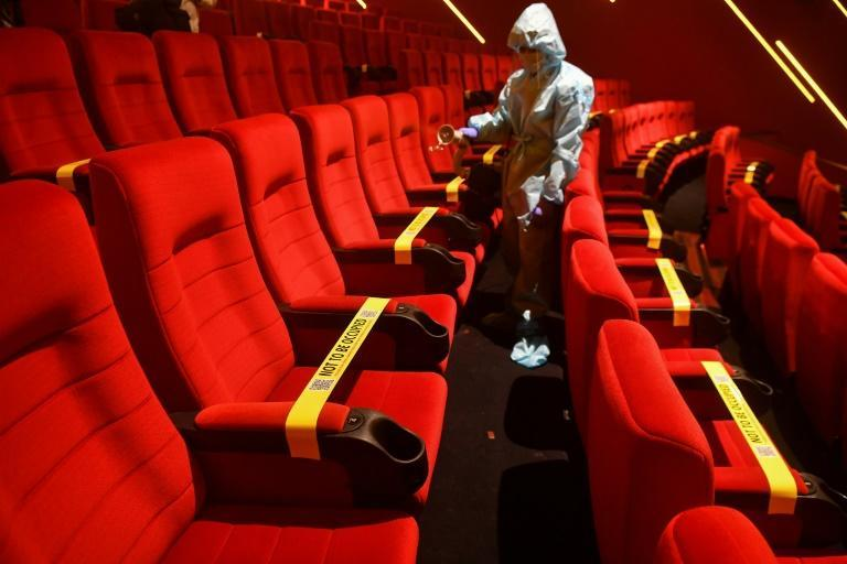 Cinemas in India will have half the seats left empty for social distancing when they re-open on Thursday