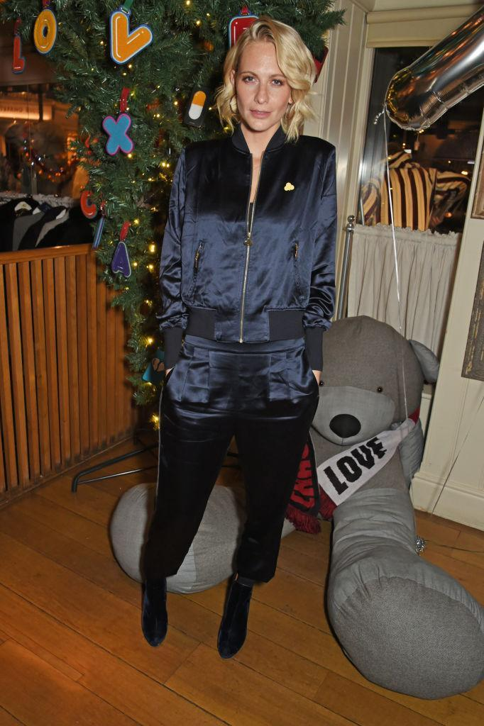 <p>Poppy Delevingne proves she's once again ahead of the trends with a streetwear take — and a very festive photo shoot. (Photo: Getty Images) </p>