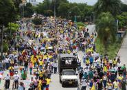 Colombians take to the streets to kick off third week of anti-government protests, in Cali