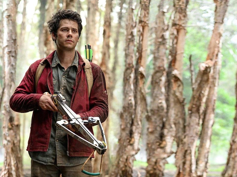 <p>Dylan O'Brien as Joe in 'Love and Monsters'</p> (Netflix)