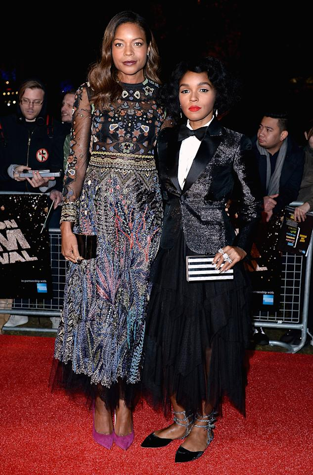 <p>Just days later, on Oct. 6, the two stars share the spotlight at the 'Moonlight' premiere during the 60th BFI London Film Festival. (Photo: Jeff Spicer/Getty Images) </p>