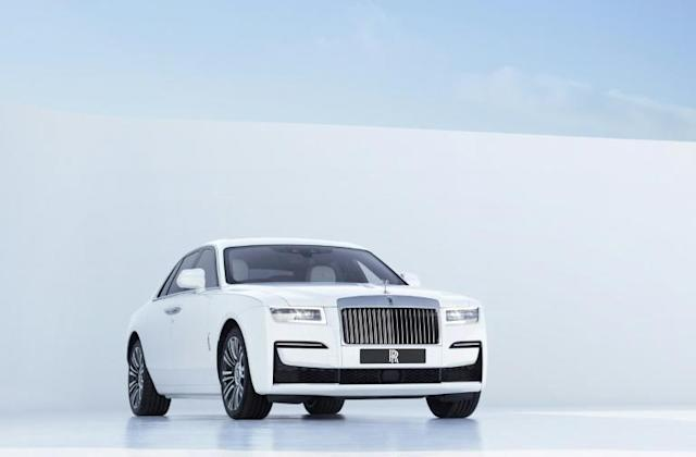 Rolls Royce Launches New Ghost Amid Virus Worries