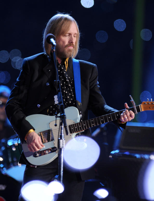 2008: Tom Petty & The Heartbreakers. (Photo by Jeff Kravitz/FilmMagic)