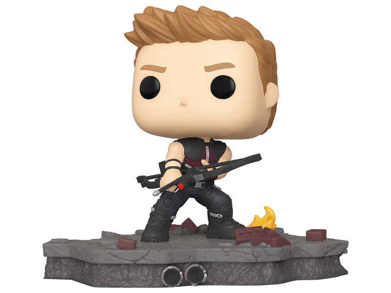 Today only: Save half on Funko Pop! Marvel: Avengers Assemble Series — Hawkeye, Amazon Exclusive. (Photo: Amazon)