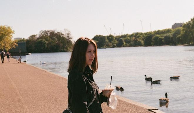 Amy Gu at Hyde Park in London. Photo: Handout
