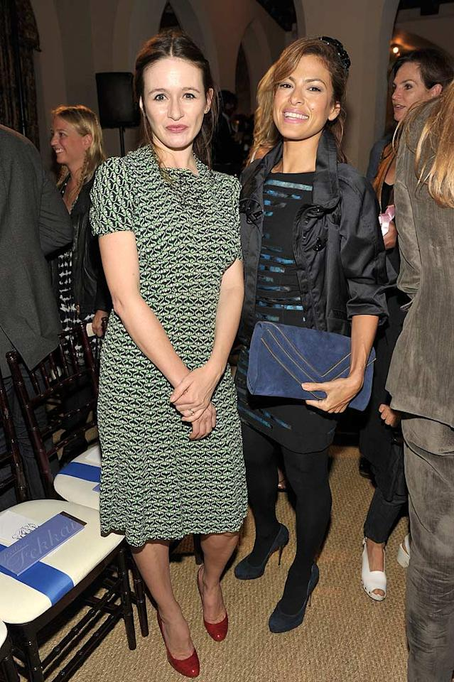 "Emily Mortimer checked out the competition with Eva Mendes, and had high praise for the finalists. ""There wasn't a weak link in the bunch,"" Mortimer told Vogue.com, adding, ""Honestly, I don't envy the judges. I couldn't pick the winner."" John Shearer/<a href=""http://www.wireimage.com"" target=""new"">WireImage.com</a> - October 19, 2010"