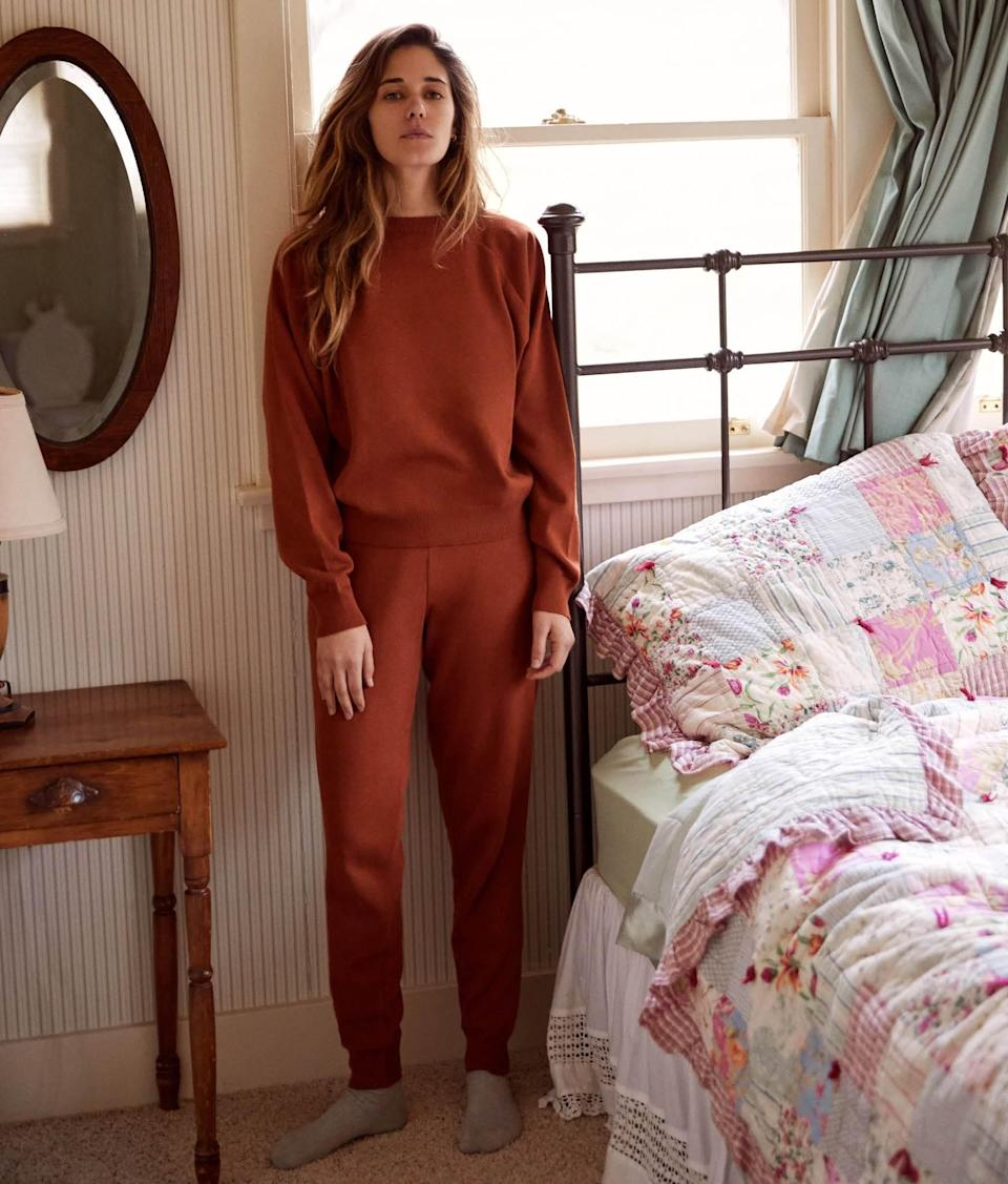 """<br><br><strong>Christy Dawn</strong> The Sonny Pant, $, available at <a href=""""https://christydawn.com/collections/the-sonny-set/products/the-sonny-pant-rust"""" rel=""""nofollow noopener"""" target=""""_blank"""" data-ylk=""""slk:Christy Dawn"""" class=""""link rapid-noclick-resp"""">Christy Dawn</a>"""