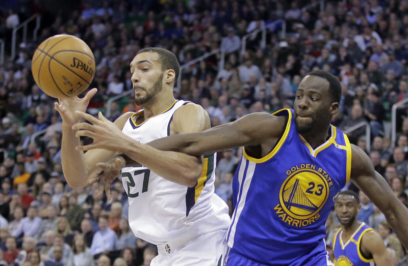 Deliberate Jazz try to slow down Warriors in 2nd round