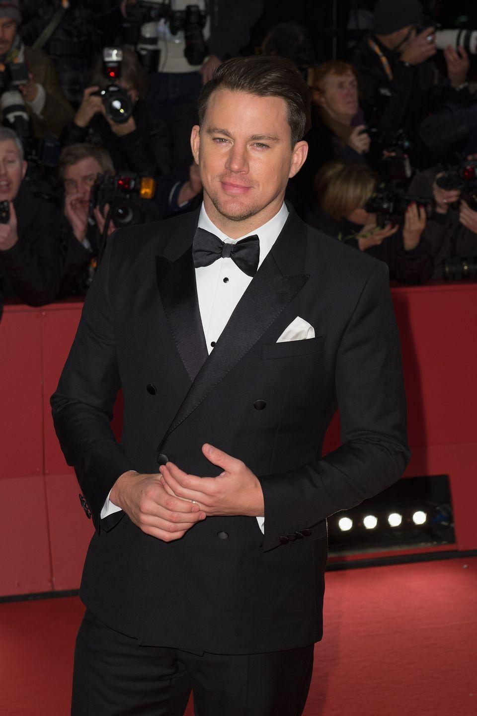 """<p>Super hunk <a href=""""https://www.delish.com/food/a42868/channing-tatums-weird-sandwich-obsession/"""" rel=""""nofollow noopener"""" target=""""_blank"""" data-ylk=""""slk:Channing Tatum"""" class=""""link rapid-noclick-resp"""">Channing Tatum</a> once confessed that his all-time favorite sandwich is the classic peanut butter and jelly sandwich with a totally random extra ingredient. On Reddit he wrote, """"Bread, white. Peanut butter—not crunchy, creamy. Grape jelly—double portion, more than you think should actually fit on a piece of white bread. Bread. And then some Cheetos shoved in there, and then you're good to go."""" </p>"""