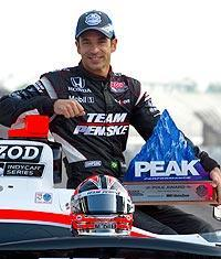 Helio Castroneves will start from the pole for the fourth time in an Indianapolis 500