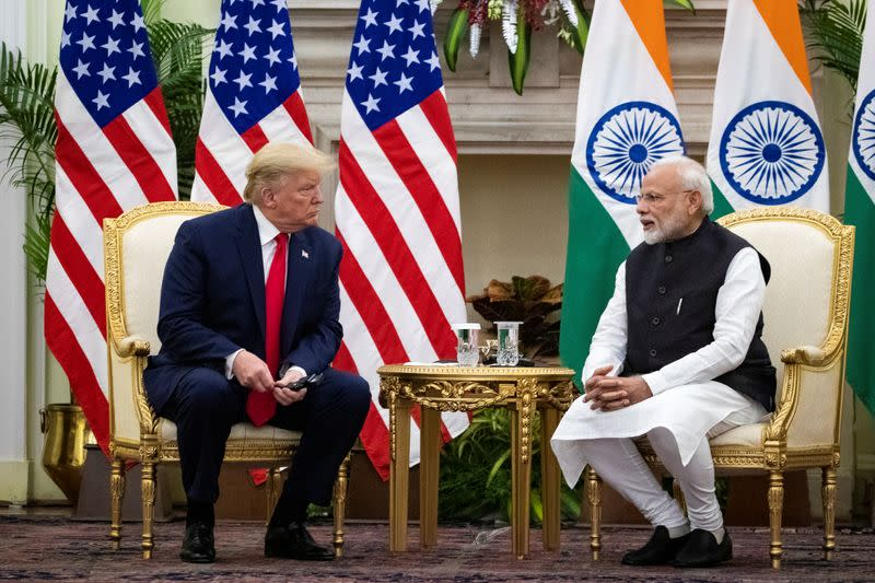 No call between Trump and Modi on China border tension - official source
