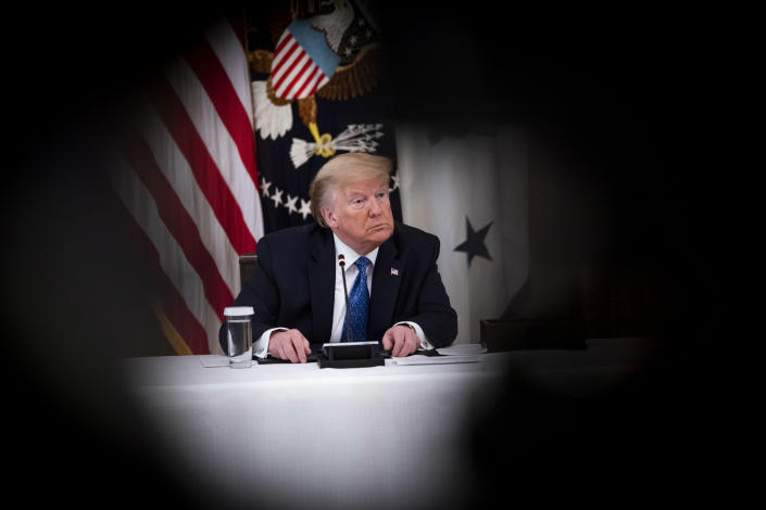 President Donald Trump in the White House, May 19, 2020. (Doug Mills/The New York Times)