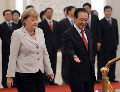 Germany is China's top trade partner in the EU