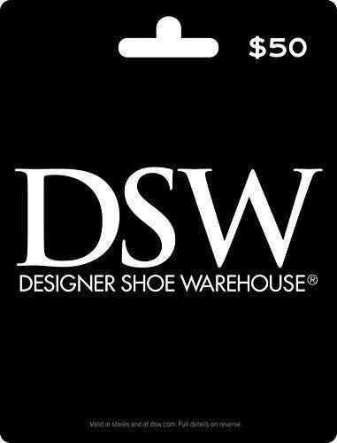 """<p><strong>DSW Designer Shoe Warehouse</strong></p><p>amazon.com</p><p><strong>$50.00</strong></p><p><a href=""""https://www.amazon.com/dp/B00BXLTM0E?tag=syn-yahoo-20&ascsubtag=%5Bartid%7C10050.g.25632110%5Bsrc%7Cyahoo-us"""" rel=""""nofollow noopener"""" target=""""_blank"""" data-ylk=""""slk:Shop Now"""" class=""""link rapid-noclick-resp"""">Shop Now</a></p><p>There are few things more thrilling than a pair of new shoes. But a gift card to a shoe store—which offers them the opportunity to buy <em>multiple</em> pairs of shoes—might just be the biggest thrill of all.</p>"""