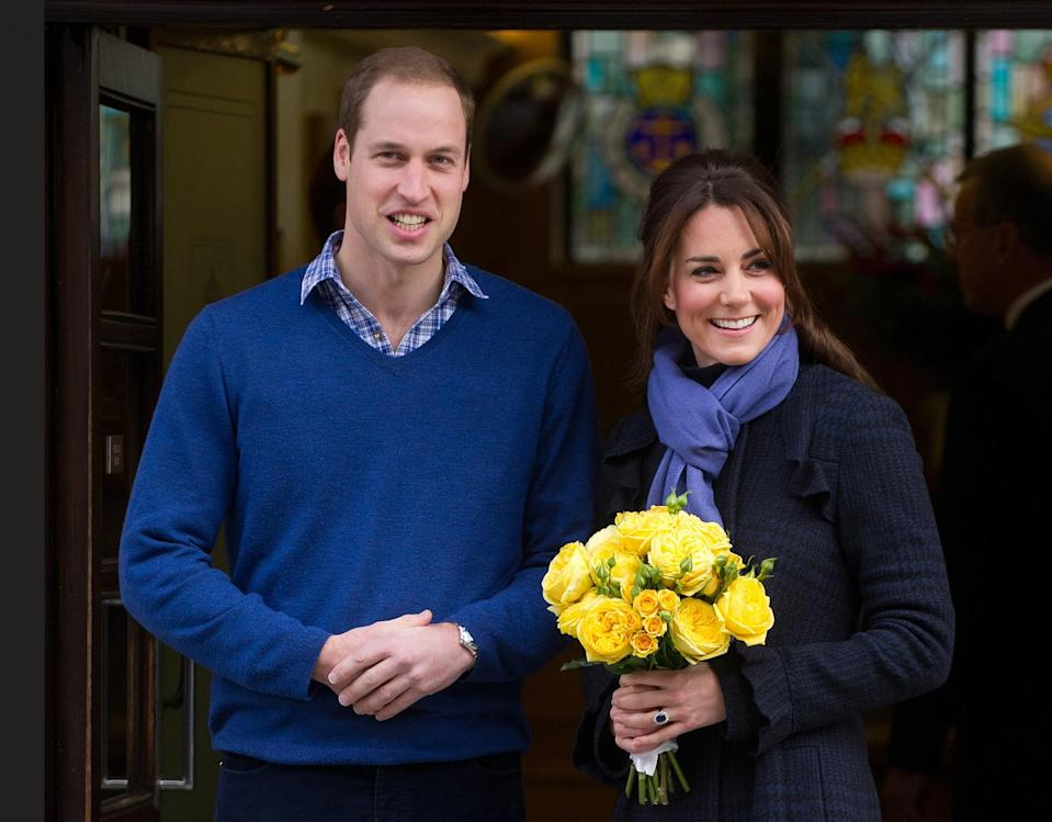 <p>William and Kate are forced to announce their first pregnancy after the Duchess is taken to hospital for morning sickness.<br><i>[Photo: PA]</i> </p>