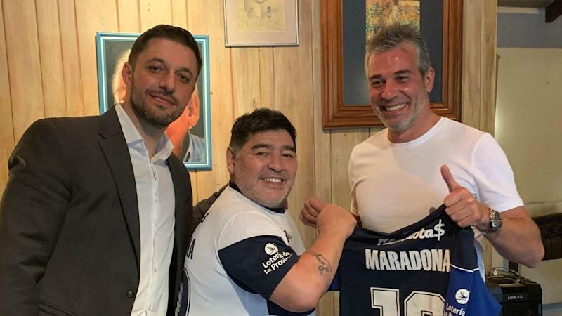 'I will work with all my soul' - Maradona pledges to give heart to new club Gimnasia
