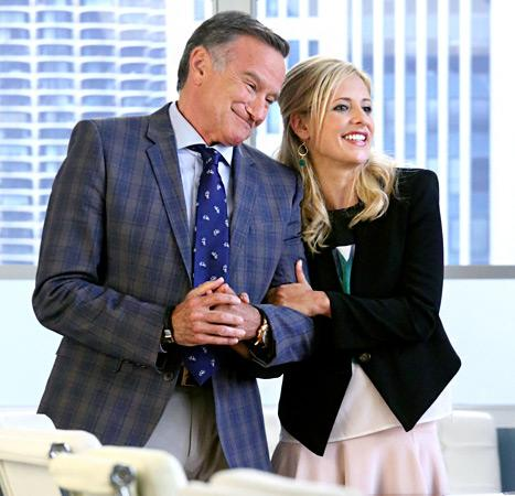 Sarah Michelle Gellar Wants Crazy Ones Costar Robin Williams to Adopt Her