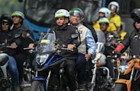 Brazilian President Jair Bolsonaro has been widely criticising for his handling of the Covid-19 crisis