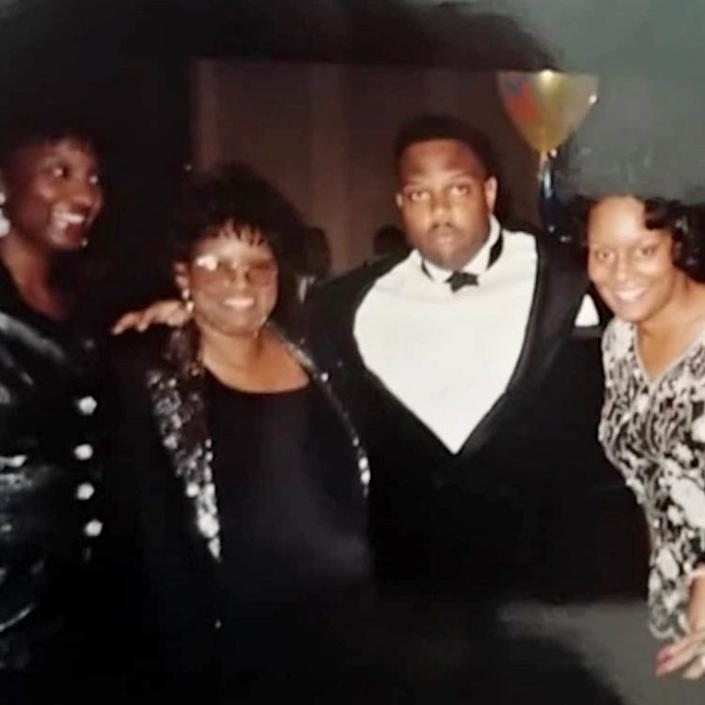 Image: Michelle West, her mother, brother Marcel Mays, and sister Marion Mays (Courtesy of Michelle West)