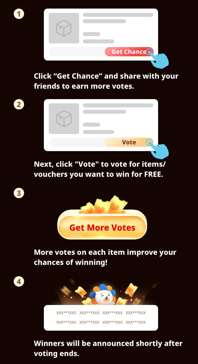 Vote to Win instructions