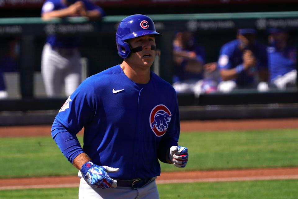 First baseman Anthony Rizzo could be looking at his final season with the Chicago Cubs.