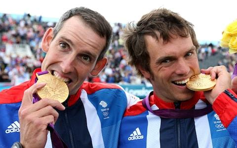 Tim Baillie and Etienne Stott win Gold at the 2012 London Olympics - Credit: Action Images