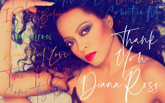 Diana Ross new album Thank You - Decca Records/PA Wire