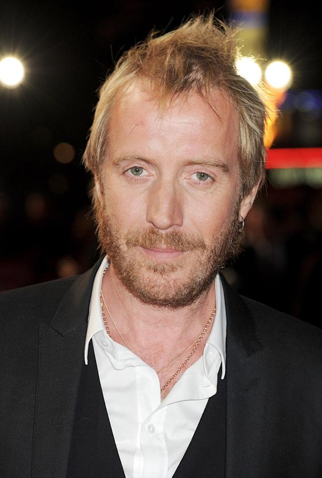 Rhys Ifans attends the premiere of 'Anonymous' during the 55th BFI London Film Festival at Empire Leicester Square on October 25, 2011 in London, England.