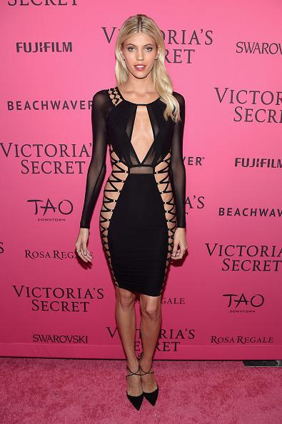 <p>Surprisingly — or unsurprisingly — this dress was the most covered up Devon Windsor was all night. </p>
