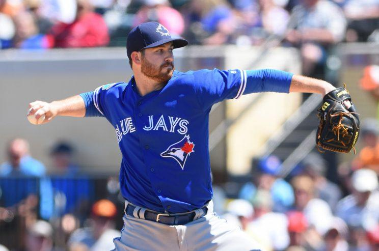 Drew Hutchison is on his way to Pittsburgh. (Getty Images/Mark Cunningham)
